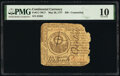 Continental Currency May 20, 1777 $30 Contemporary Counterfeit PMG Very Good 10