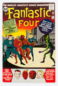 Fantastic Four #11 (Marvel, 1963) Condition: FN-