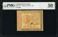 Continental Currency January 14, 1779 $2 PMG About Uncirculated 50 Net