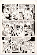 Original Comic Art:Story Page, Steve Ditko and Rick Altergott What Is... the Face? #3 Story Page 5 Original Art (ACE Comics, Inc., 1987)....