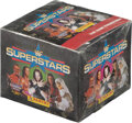 """Boxing Cards:General, 1997 Titan WWF Superstars Stickers Unopened Box - Dwayne """"The Rock"""" Johnson Rookie Card!..."""