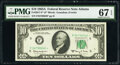 Small Size:Federal Reserve Notes, Fr. 2017-F* $10 1963A Federal Reserve Star Note. PMG Super...