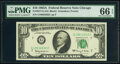 Fr. 2017-G $10 1963A Federal Reserve Notes. Two Examples. PMG Gem Uncirculated 66 EPQ. ... (Total: 2 notes)