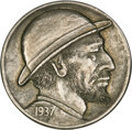 1937 Nickel by a Talented, Unknown Artist
