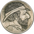 Hobo Nickels, 1913 Type Two Host Nickel, Partial Cameo....