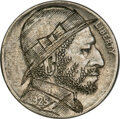 Hobo Nickels, 1929 Hobo Nickel by an OHNS-Named Classic Carver....