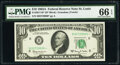 Small Size:Federal Reserve Notes, Fr. 2017-H* $10 1963A Federal Reserve Star Note. PMG Gem Uncirculated 66 EPQ.. ...