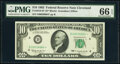 Small Size:Federal Reserve Notes, Fr. 2016-D* $10 1963 Federal Reserve Star Note. PMG Gem Uncirculated 66 EPQ.. ...