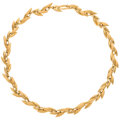 Estate Jewelry:Necklaces, Chiampesan Gold Necklace. ...