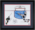 Autographs:Photos, Braden Holtby Signed Oversized 2018 Stanley Cup Final Photograph. ...