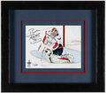 Autographs:Photos, Braden Holtby Signed 2018 Stanley Cup Final Photograph....