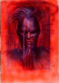 Movie Posters:Horror, Future-Kill by H.R. Giger (International Film Marketing, 1984). Very Fine/Near Mint. Signed Original Concept Poster Artwork ...