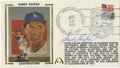 Autographs:Letters, Sandy Koufax Signed Gateway Envelope. Postmarked, dated, andsigned, the commemorative envelope with the clear and bold Kou...