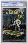 Silver Age (1956-1969):Horror, Twilight Zone #20 File Copy (Gold Key, 1967) CGC NM 9.4 Off-whiteto white pages....