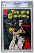 Silver Age (1956-1969):Horror, Movie Classics - Two On a Guillotine - File Copy (Dell, 1965) CGCNM 9.4 Off-white to white pages....