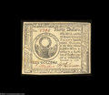 Colonial Notes:Continental Congress Issues, Continental Currency November 2, 1776 $30 Gem New. One of ...