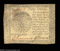Colonial Notes:Continental Congress Issues, Continental Currency April 11, 1778 $40 Contemporary ...