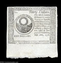 Colonial Notes:Continental Congress Issues, Continental Currency Blue Counterfeit Detector September 26, ...