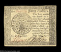 Colonial Notes:Continental Congress Issues, Continental Currency September 26, 1778 $40 About New. ...