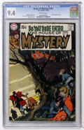 Bronze Age (1970-1979):Horror, House of Mystery #187 (DC, 1970) CGC NM 9.4 Off-white pages....