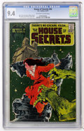 Bronze Age (1970-1979):Horror, House of Secrets #90 (DC, 1971) CGC NM 9.4 Off-white to whitepages....