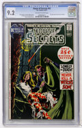 Bronze Age (1970-1979):Horror, House of Secrets #93 (DC, 1971) CGC NM- 9.2 Off-white to whitepages....