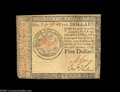 Colonial Notes:Continental Congress Issues, Continental Currency January 14, 1779 $5 About New. ...