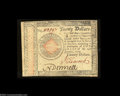 Colonial Notes:Continental Congress Issues, Continental Currency January 14, 1779 $20 Extremely Fine-...
