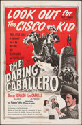 """Movie Posters:Western, The Daring Caballero (United Artists, 1949). Folded, Fine/Very Fine. One Sheet (27"""" X 41"""") & Lobby Card Set of 8 (11"""" X 14"""")... (Total: 9 Items)"""