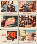 """Movie Posters:Hitchcock, North by Northwest (MGM, 1959). Fine+. Title Card and Lobby Cards (5) (11"""" X 14""""). Hitchcock.. ... (Total: 6 Items)"""