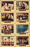 """Movie Posters:Science Fiction, UFO: Unidentified Flying Objects (United Artists, 1956). Fine+. Lobby Card Set of 8 (11"""" X 14""""). Science Fiction.. ... (Total: 8 Items)"""