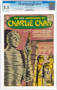 The New Adventures of Charlie Chan #2 Savannah Pedigree (DC, 1958) CGC VF+ 8.5 Cream to off-white pages