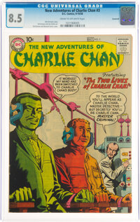 The New Adventures of Charlie Chan #3 Savannah Pedigree (DC, 1958) CGC VF+ 8.5 Cream to off-white pages