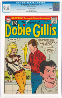 The Many Loves of Dobie Gillis #17 Savannah Pedigree (DC, 1963) CGC NM+ 9.6 Off-white pages