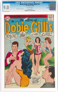 The Many Loves of Dobie Gillis #19 Savannah Pedigree (DC, 1963) CGC VF/NM 9.0 Off-white pages