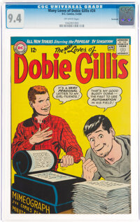The Many Loves of Dobie Gillis #24 Savannah Pedigree (DC, 1964) CGC NM 9.4 Off-white pages
