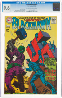 Blackhawk #239 (DC, 1968) CGC NM+ 9.6 Off-white to white pages
