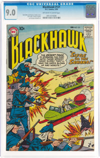 Blackhawk #121 (DC, 1958) CGC VF/NM 9.0 Off-white to white pages