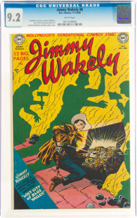 Jimmy Wakely #8 (DC, 1950) CGC NM- 9.2 White pages