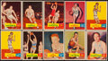 Basketball Cards:Lots, 1957 Topps Basketball Collection (40). ...