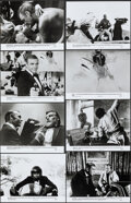 """Movie Posters:James Bond, Never Say Never Again (Warner Bros., 1983). Very Fine-. Presskit (9"""" X 12"""") with Photos (13) (approx. 8"""" X 10""""), & Stapled P..."""