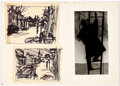 Original Comic Art:Miscellaneous, Morton Künstler The Right of Privacy Art-Rehearsal Sketches and Reference Photograph Preliminary Original Art ...