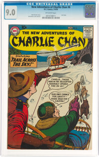 The New Adventures of Charlie Chan #6 (DC, 1959) CGC VF/NM 9.0 Off-white pages