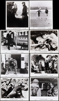 """Two Weeks in September (Paramount, 1967). Fine+. Photo (28) (approx. 5"""" X 7"""", 7.5"""" X 9.75"""", & 8&..."""