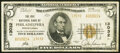 National Bank Notes:Pennsylvania, Philadelphia, PA - $5 1929 Ty. 2 The Erie National Bank Ch. # 13032 Fine.. ...