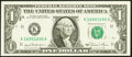 Small Size:Federal Reserve Notes, Fancy Serial Number 16901690 Fr. 1911-K $1 1981 Federal Reserve Note. Choice Crisp Uncirculated.. ...