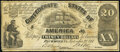 Confederate Notes:1861 Issues, CT18 Counterfeit $20 1861 Fine.. ...