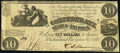 Confederate Notes:1861 Issues, T28 $10 1861 Fine.. ...