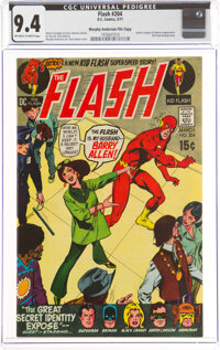 The Flash #204 Murphy Anderson File Copy (DC, 1971) CGC NM 9.4 Off-white to white pages