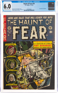 Haunt of Fear #16 (EC, 1952) CGC FN 6.0 Off-white to white pages